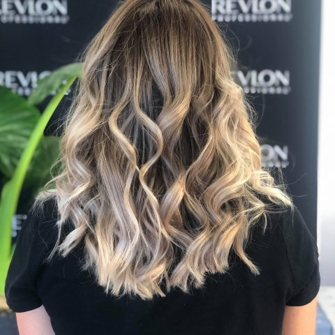 coiffeur barbier montpellier balayage blond